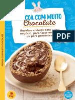 eBook Receitas Pascoa Com Muit Chocolate