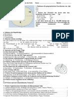 Test-kartographie und geosphären