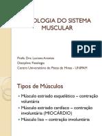 FISIOLOGIA DA CONTRAÇÃO MUSCULAR