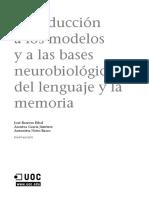 Trastornos Del Lenguaje y La Memoria_Módulo 1_Introducción a Los Modelos y a Las Bases Neurobiológicas Del Lenguaje y La Memoria(1)