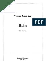 Koshkin - Rain