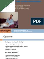 Leadership & Change Management, L2, By Rahat Kazmi