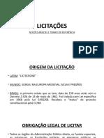 Apresentação Licita PSI