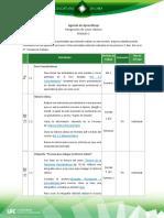 Agenda de Aprendizaje M1-1