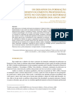 Artigo OS DESAFIOS DA FORMAÇÃO
