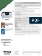 Impresoras de Credenciales Mexico Fargo Card Jet 410 Especificaciones www.idsecureworld.com