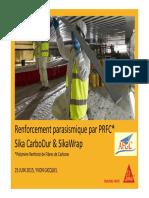 03-AFGC Renforcements Parasismiques SIKA YGicquel