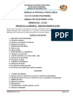 SUMARIO TERCERA PRESENTACIÓN