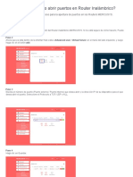 MERCUSYS - ¿Cómo abrir puertos en Router Inalámbrico_ _ Base de Conocimiento