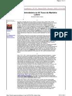 M1 - U1 - Estudo Introdutório às 95 Teses de Martinho Lutero - Espaço Acadêmico - p. 9