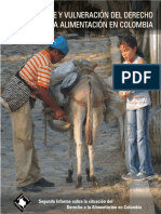 8. Segundo Informe DA en Colombia. 2010