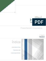 Presentación corporativa Hazard Advisors
