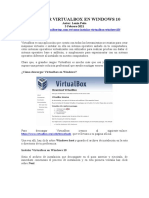 Instalacion VirtualBox