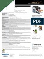 www.idsecureworld.com Impresora de Credenciales DTC400 Fargo Especificaciones