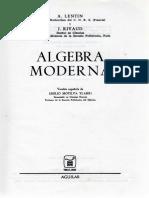 Algebra Moderna - Lentin y Rivaud