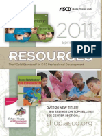 2011 Spring Resources Catalog