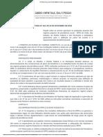 PORTARIA Nº 464, DE 19 DE NOVEMBRO DE 2018 - Imprensa Nacional