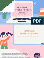 5.6 Modelos Deterministicos