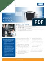 Fargo Mexico Dtc1000 Especificaciones Manual Usuario