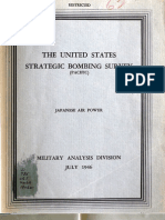 USSBS Report 62, Military Analysis Division, Japanese Air Power