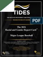 MLB Report Card