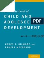 The Little Book of Child and Adolescent Development - Karen Gilmore, Pamela Meersand