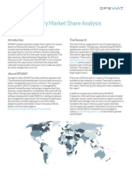 OPSWAT Antivirus and Peer to Peer Market Share Report - March 2011