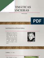 Matemáticas Financieras - Definiciones