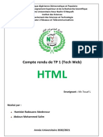TP 1 Tech web