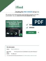 Interactive Excel Dashboard _ Free Version _ ExcelFind.com