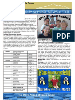 Week 5 Newsletter T4 2011