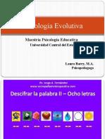 Psicología Evolutiva diapositiva