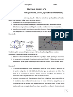 TD et corrections (2)
