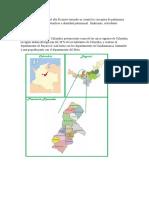 Descripción descripción geográfica del alto Ricaurte teniendo en cuenta los conceptos de patrimonio cultural