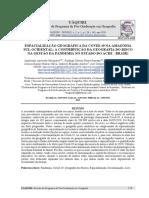 ESPACIALIZAÇÃO GEOGRÁFICA DA COVID-19 NA AMAZÔNIA SUL-OCIDENTAL