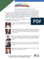 Invitación I Congreso Internacional - Español