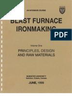 Blast Furnace Ironmaking Volume One