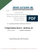 Birthday Celebration for Jesse Jackson