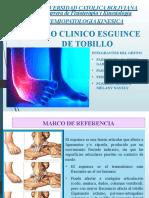 Caso Clinico Esguince de Tobillo