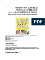Pattern Making for Kids Clothes All You Need to Know About Designing Adapting and Customizing Sewing Patterns for Childrens Clothing | Caryboo.verticaly.fr