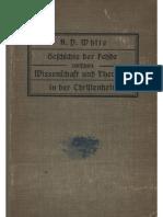 White, A.D. - Geschichte der Fehde zwischen Wissenschaft und Theologie in der Christenheit; Band 2, 1911