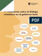 Reflexiones diálogo ciudadano marzo 2018