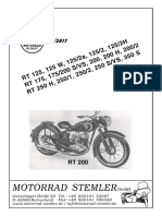 MOTORRAD STEMLER. 05_2017 RT 125, 125 W, 125_2a, 125_2, 125_2H RT 175, 175_200 S_VS, 200, 200 H, 200_2 RT 250 H, 250_1, 250_2, 250 S_VS, 350 S RT 200