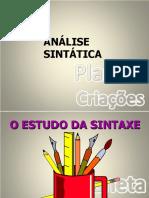 Análise Sintática I