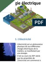 1-Lénergie électrique