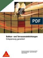 B Balkon- und Terassenabdichtungen (2)