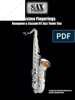 Altissimo Fingerings R1 Jazz Tenor Sax
