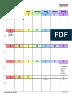 Prüfung Kalender