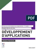 Developpement Application TP