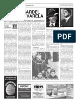 CARLOS GARDEL PRESO EN VARELA